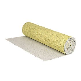 Alpha Polyurethane Foam Carpet Underlay Yellow 11 x 1.37m