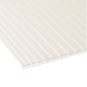 Corotherm Triplewall Polycarbonate Sheet Clear 700 x 16 x 4000mm