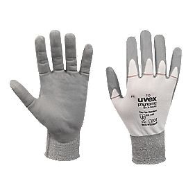 Uvex X-Foam Foam-Coated Palm Gloves Grey Large