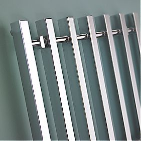 Kudox Filomena Designer Towel Radiator Chrome 600 x 800mm 358W 1222Btu
