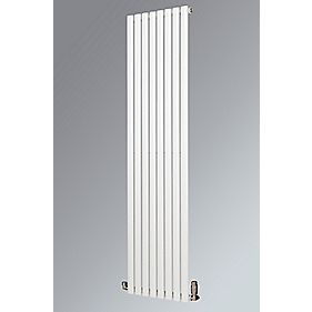 Fortuna Vertical Designer Radiator White 1800 x 590mm 3908BTU