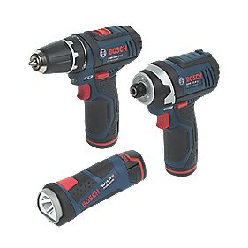 Bosch 10.8V-LI 10.8V 1.3Ah Li-Ion Cordless Triple Pack