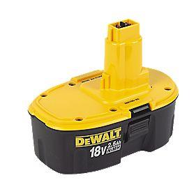 DeWalt DE9503 18V 2.6Ah Ni-MH Battery