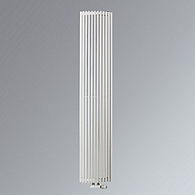Aurora Edge Vertical Designer Radiator White 1800 x 340mm 3139BTU