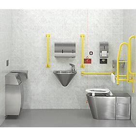 DOC M Pack Traditional Bathroom Suite with Concealed Cistern