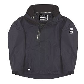 "Helly Hansen Haag Waterproof Jacket Navy Medium 37½-39"" Chest"