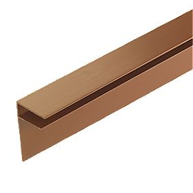 Corotherm Side Flashing Brown 10mm x 4m Pack of 2