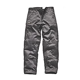 DICKIES REDHAWK ACTION TROUSERS GREY 36W 32L