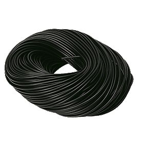 PVC Sleeving 3mm x 100m Black