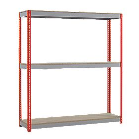 Heavy Duty Shelving 1980 x 2400 x 600mm