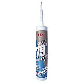 Dow Corning 791 Anthracite Weatherproof Silicone Sealant 310ml
