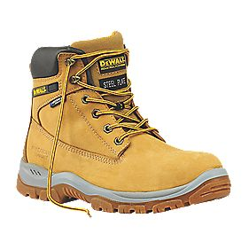 DeWalt Titanium Safety Boots Honey Size 8