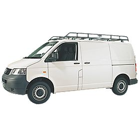 Rhino Modular Rack VW T5 Low Roof SWB Tailgate 2002