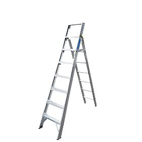 Lyte Multipurpose Ladder Aluminium Alloy 8 x 6 Treads 3.62m