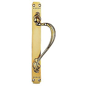 Carlisle Brass Laurin Pull Handle Polished Brass mm
