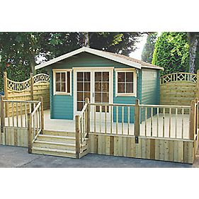 Shire Caledonian Log Cabin 4.7 x 4.1m