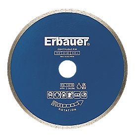 Erbauer Pro Diamond Blade Tile 180x25.4mm
