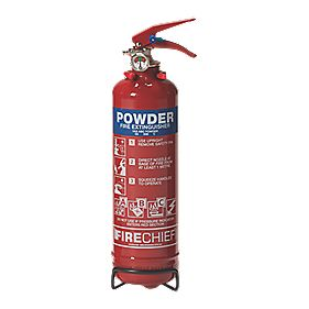 Firechief Fire Extinguisher Dry Powder 1kg