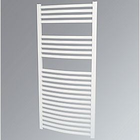 Kudox Curved Towel Radiator White 1100 x 500mm 524W 1788Btu