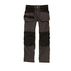 "Scruffs Trade Trousers Graphite Grey 36"" W 31"" L"