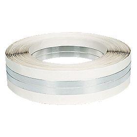 Plasterers Corner Bead Tape Silver / Aluminium 50mm x 30m