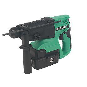 Hitachi DH24DVC/JK 4kg 2.0Ah Ni-MH Cordless SDS Plus Hammer Drill 24V