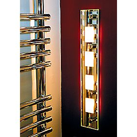 Halolite Mirrored Quad Bathroom Wall Light 20W