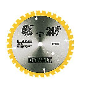 DeWalt 165x10mm 36T TCT Circular Saw Blade