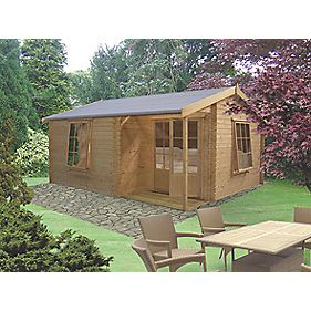 Shire Ringwood Log Cabin 3.6 x 4.2 x 2.5m