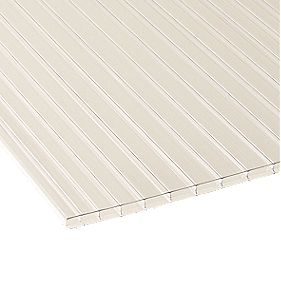 Corotherm Triplewall Polycarbonate Sheet Clear 980 x 2500mm
