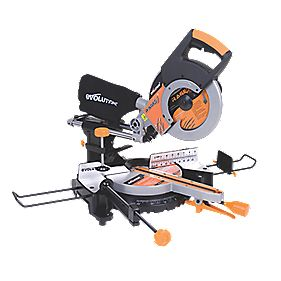 Evolution Rage 3 255mm Compound Sliding Mitre Saw 110V