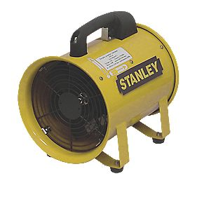 Stanley Steel Ventilator 200mm 240V
