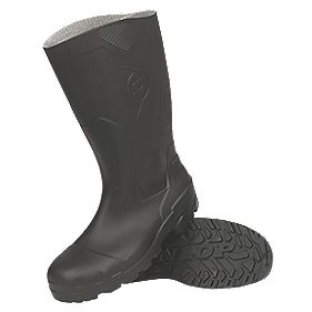 Dunlop Devon H142011 Safety Wellington Boots Black Size 8