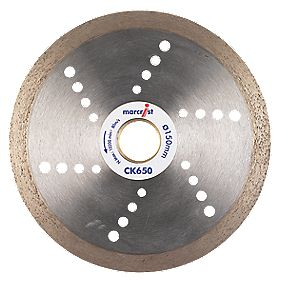 Marcrist CK650 Tile Cutting Diamond Blade 150 x 22.23mm