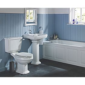 Dartmouth Traditional Bathroom Suite with Steel Bath