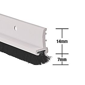 Stormguard Door & Window Strips White 1050mm Pack of 5