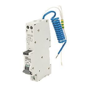 MK Sentry 6A 30mA SP Type B Curve RCBO