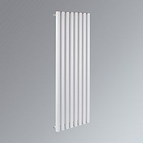 Erupto Vertical Designer Radiator White 1500 x 435mm 3890BTU
