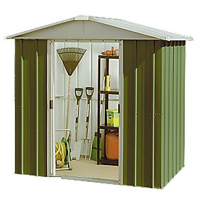 "Yardmaster Sliding Door Apex Shed 6'6"" x 4'3"" x 5'10"""