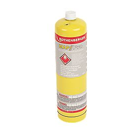 Rothenberger Mapp/Pro Disposable Gas Cylinder 400g Pack of 6