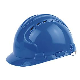 JSP EVO 8 Evolution Safety Helmet Blue