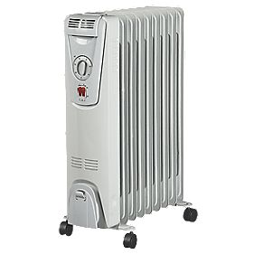 NDB-1C-20S 9 Fin Oil-Filled Radiator with Timer 2000W