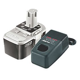 Ryobi One+ BPP-1817M 18V 1.7Ah Ni-Cd Battery & Charger
