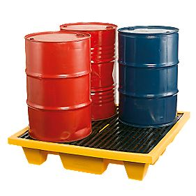 4 Drum Spill Pallets