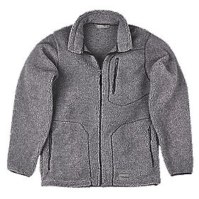 "Work-It Sherpa Jacket Grey X Large 48-50"" Chest"