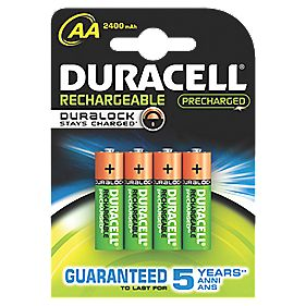 Duracell 75071755 AA Batteries Pack of 4