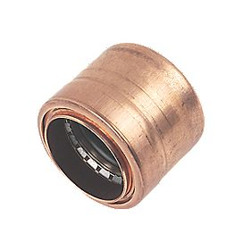 Conex Cuprofit Push-Fit Stop End 28mm