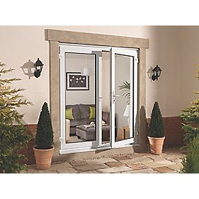 uPVC 5ft French Door White 1490 x 2090mm