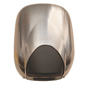 Franke Eco Airblast Midi Touch-Free Hand Dryer Satin Chrome 1100W