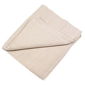 No Nonsense Cotton Twill Dust Sheet 24 x 3'
